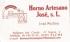 HORNO ARTESANO JOSE SL Logotipo